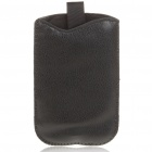 Protective Artificial Leather Case Pouch for Samsung i9100/Galaxy S 2 - Black