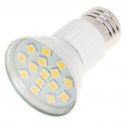 E27 3W 3200K 240-Lumen 15-5050 SMD LED Warm White Light Bulb (AC 85~265V)