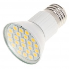 E27 4.8W 3200K 384-Lumen 24-5050 SMD LED Warm White Light Bulb (AC 85~265V)