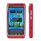 "FN8 3,3 ""Touch Screen Quad SIM Quad-Netzwerk Standby Quadband GSM TV Cell Phone w / Wi-Fi/GPS - Red"
