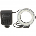 MEIKE 5500K 32-LED White Macro Ring Flash Light for Nikon DSLR (4 x AA)