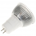 GU5.3 3W 3500K 270-Lumen 3-LED Warm White Light Bulb (AC 110~240V)