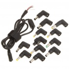 Replacement Power Cable with 12 Adapters for Toshiba/IBM/SONY/HP + More