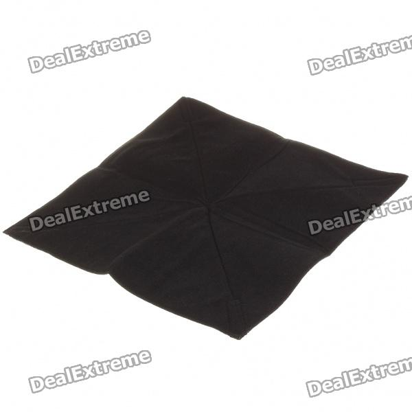 Multifunction Protective Soft Sponge Fabric for Camera/Lens/Camcorder + More - Black (Size-L)
