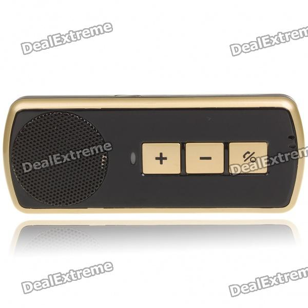 Portable Rechargeable Bluetooth V2.0 Cell Phone Handsfree Speaker Car Kit ...