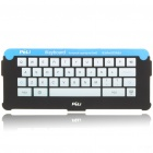 PELI iKeyboard Portable Silicone Screen Keyboard Adapter Case for Ipad 2 - Black