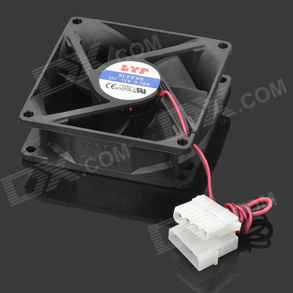 80mm DC Brushless PC Chassis Cooling Fan cpu laptop cooling fan for fujitsu siemens amilo d1840 d1840w d1845 bi sonic bp541305h cooling fan dv 5v 0 36a round fan