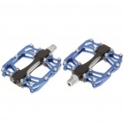 WELLGO Replacement Mountain Bike Platform Pedals - Blue (Pair)