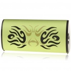 Stylish USB Rechargeable MP3 Music Speaker Player with TF Slot - Green