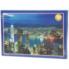 Glow-in-the-Dark Hong Kong Night View Jigsaw Puzzle (1000-Piece)