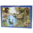 Glow-in-the-Dark Outdoor Landscape Jigsaw Puzzle (1000-Piece)