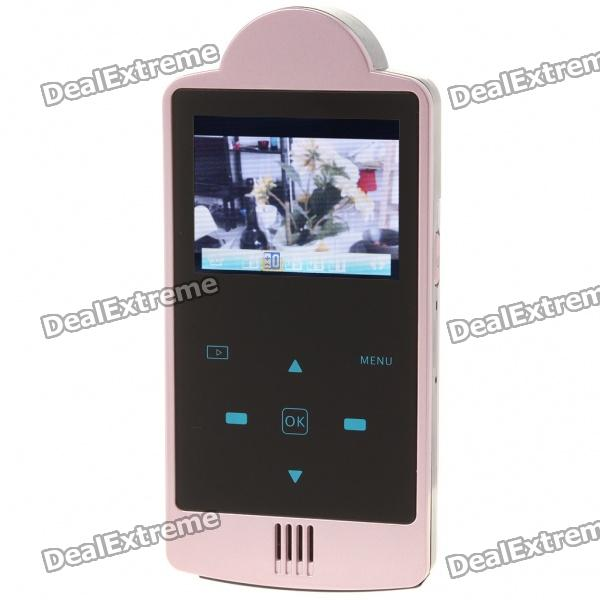 "Dola-DHD001 2.0"" TFT 5.0MP CMOS HD DV Camcorder with HDMI/TF Slot - Pink"