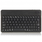 Ultra-Thin Rechargeable 2.4GHz Bluetooth V2.0 80-Key Keyboard - Black