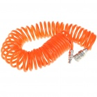 Pneumatic Plastic Coil Tube Pipe Hose - Orange (6M-Length)