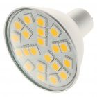 MR16 4,2 W 21-SMD 5050 LED 336LM 2800-3200K Warm White Light Bulbs (12V)
