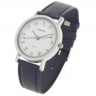 Stylish PU + Metal Water Resistant Quartz Wrist Watch (1x626)