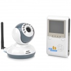 Buy 2.4GHz Wireless 2.4 inch LCD Digital Baby Monitor Night Vision Surveillance Camera