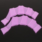 Silicone Swimming Finger Web for Children - Small Size (Deep Pink)