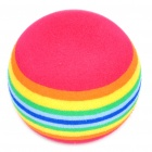 Golf Practice Rainbow Foam Ball