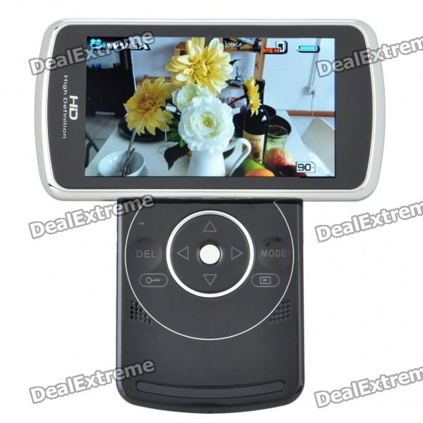 5MP CMOS Digital Video Camcorder w/ 4X Digital Zoom/HDMI/SD (3.5 LCD) 5 0mp digital video camcorder w 4x digital zoom motion detection hdmi sd slot 2 5 tft lcd