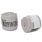 Boxing Adhesive Sports Bandage/Hand Wraps - Grey (Pair)