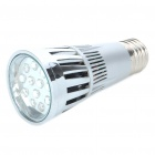 E27 15W 300-Lumen 10-Red + 2-Blue LED Grow Light with Cooling Fans (90~240V)