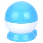 USB/4xAAA Batteries Powered Doraemon Style Rotating Moon & Star Projector Night Light - Blue