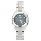 Stylish Stainless Steel Water Resistant Quartz Wrist Watch (LR626)