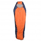 Basecamp Fashion Portable Sleeping Bag - Blue + Orange (215cm x 80cm)