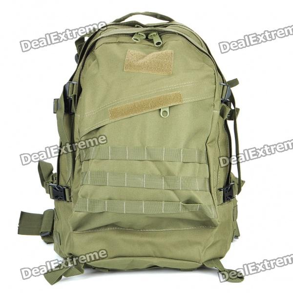 Multi-Function Outdoor Military War Game Nylon Backpack Bag - Army Green vs набор треугольных спонжей для макияжа 4 шт triangular makeup sponges set kit de eponges de maquillage triangulaires