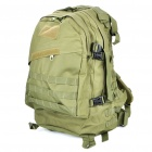 Multi-Function Outdoor Military War Game Nylon Backpack Bag - Army Green