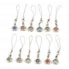 Exquisite Circle Charm Ornament (12-Pack)