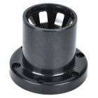 E40 Connector LED Light Bulb Holder Base - Black (Max. AC 220)