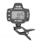 "AT-320G 1.1"" LCD Backlit Clip-On Chromatic Tuner (1 x CR2032)"