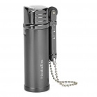 Nobilis Zinc Alloy Butane Gas Lighter with Metal Chain