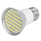 E27 4.5W 6500K 240-Lumen 60x3528 SMD LED White Light Bulb (85 ~ 265V)