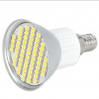 E14 4.5W 60-SMD 3528 LED 240LM 3000-3500K Warm White Light Bulbs