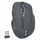MC Saite 2.4GHz Wireless Optical Mouse with USB Receiver - Black (2xAAA)