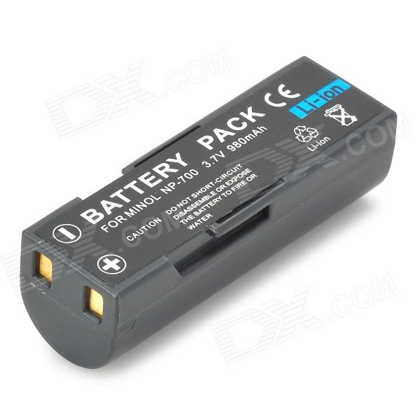 Replacement NP-700 3.7V 850mAh Battery for Dimage DG-X50 Series/X60 bp 208 compatible 850mah battery pack for canon mvx1sidc10 dc20 more