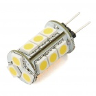 G4 3W 180-Lumen 15*5050 SMD LED 3500K Warm White Light Bulb (12V)