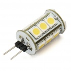 G4 3W 180LM 15*5050 SMD LED 3500K Warm White Light Corn Cob Bulb (12V)