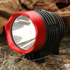 T6 XML-T6 3-Mode 900-Lumen White LED Bike Light Set mit Akku