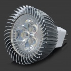 MR16 3W 270-Lumen 3500K Warm White Light 3-LED Cup Bulb (12V)