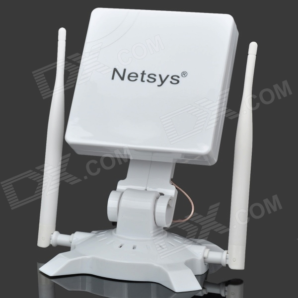 NETSYS 990WN 150Mbps 802.11b/g/n USB WLAN WiFi Wireless Network Adapter - White edup ep 6506 2000mw 54mbps 802 11 b g usb wifi wireless network adapter white