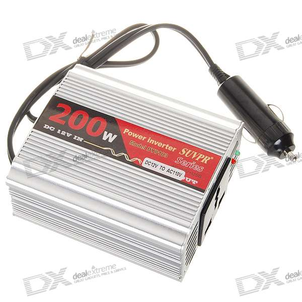 200W DC12V to AC220V Power Inverter