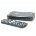 1080P Full HD Media Player w/ Remote Controller/VGA/HDMI/CVBS/USB/SD - Black
