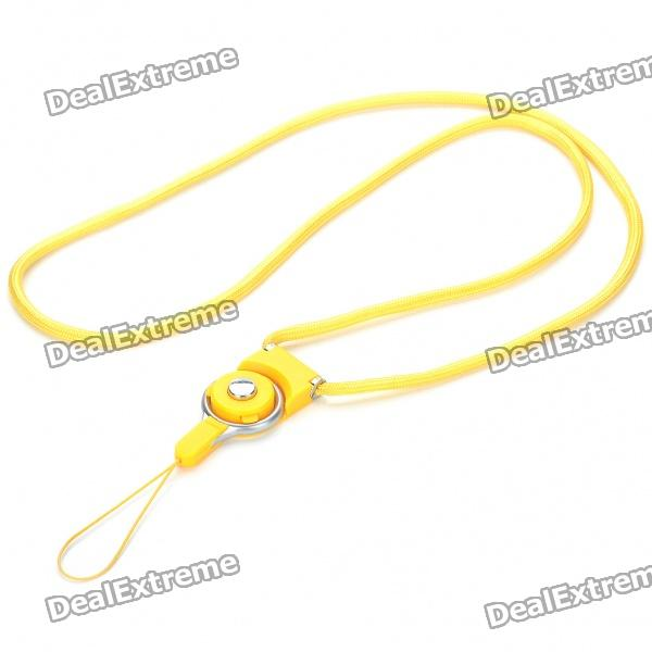 Fashion Plastic Cell Phone Neck Strap Lanyard (80cm / Random Color)
