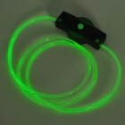 Ultra Bright 3-Mode Green Lights LED Luminescent Shoelaces (1 x CR2016 / Pair)