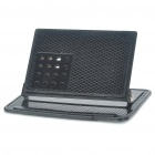 Car Vehicle Mounted Cell Phone Holder Stand Rubber Mat - Black