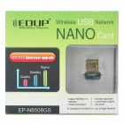 EP-N8508GS IEEE802.11b/g/n 150Mbps USB de red inalámbrica Dongle Adapter - Negro